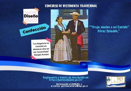 concurso VESTIMENTA TRADICIONAL Diseño y confección